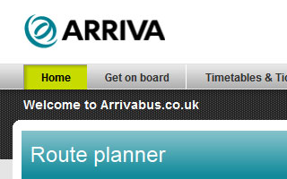 Link to Arriva work examples