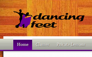 Link to Dancing Feet work examples