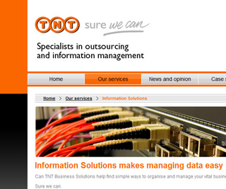TNT Business Solutions - Homepage